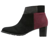 BRIGHTON Ankle Boot schwarz/bordo/crow