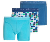 3 PACK Panties monaco blue