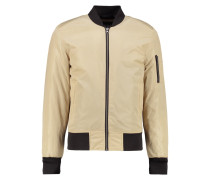 Bomberjacke gold/black