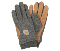 FOSTER Fingerhandschuh dark grey heather/hamilton brown