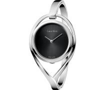 LIGHT - Uhr - silver-coloured/black