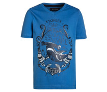 TShirt print blau