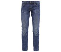 GStar 5620 3D CROPPED MID FLARE Jeans Straight Leg blue denim