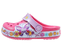 CROCBAND Pantolette flach candy pink
