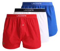 3 PACK Boxershorts red