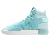 TUBULAR INVADER - Sneaker high - clear aqua/vintage white