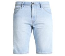 Jeans Shorts - heavy bleached blue denim