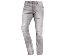 AEDAN Jeans Slim Fit stone grey denim