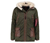 Winterjacke - dark green