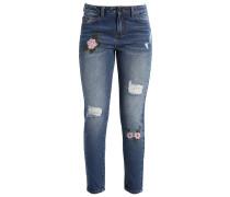 VIGLARA - Jeans Slim Fit - medium blue denim