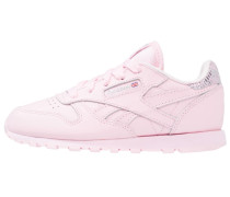 CLASSIC LEATHER METALLIC - Sneaker low - luster pink/silver metallic