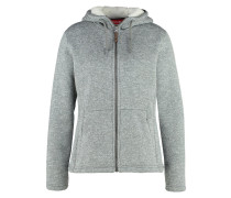 CALI Fleecejacke heather grey