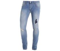 WRECK - Jeans Skinny Fit - thames wash