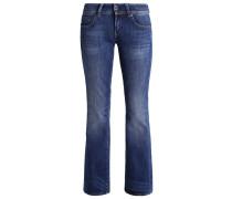 MIDGE SADDLE MID BOOTLEG - Jeans Bootcut - cerro stretch denim