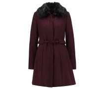 Wollmantel / klassischer Mantel red