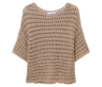 SHINY Strickpullover beige