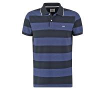 Poloshirt vintage blue