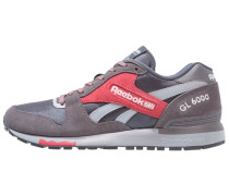 GL 6000 - Sneaker low - grey/red/coal/white