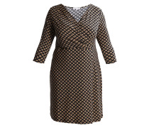 Jerseykleid - black/beige