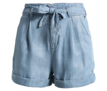 PAPERBAG - Jeans Shorts - pool blue