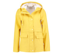 ONLNEW TRAIN - Regenjacke / wasserabweisende Jacke - yolk yellow/white