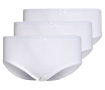 3 PACK Slip white