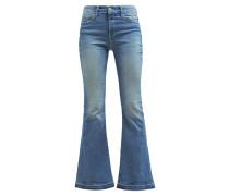 SHEENA Jeans Bootcut shaded indigo