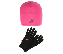 PERFORMANCE SET Fingerhandschuh sport pink