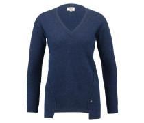 DAISY - Strickpullover - dress blue melange