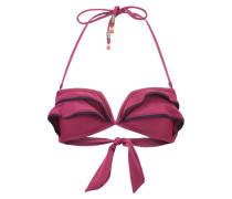 DAZZLING - Bikini-Top - red plum