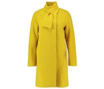 Wollmantel / klassischer Mantel lime