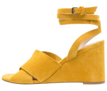 WHIRL X OVER WEDGE - Keilsandalette - yellow