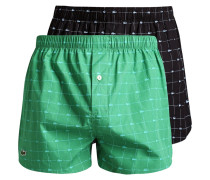 AUTHENTICS 2 PACK Boxershorts green