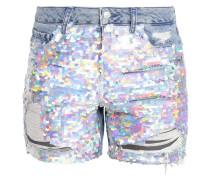ARIEL - Jeans Shorts - middenim