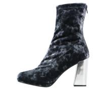 High Heel Stiefelette - blue