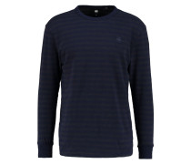 GStar PHAEN STRIPE R T L/S RELAXED FIT Langarmshirt sartho blue/forest night