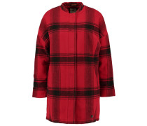 Wollmantel / klassischer Mantel - red