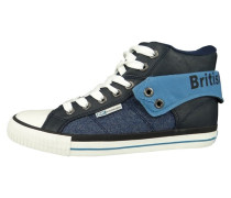 Sneaker high navy blue