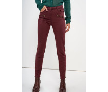 Jeans Skinny Fit bordeaux