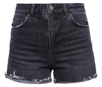 Jeans Shorts washed black