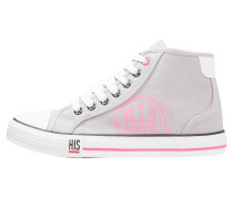 Sneaker low - grey/pink