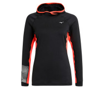 PHENIX Sweatshirt black/fiery coral