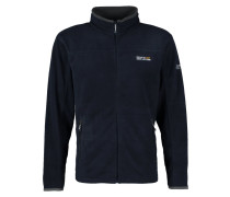 STANTON II Fleecejacke navy / seal grey