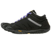 TREK ASCENT INSULATED - Laufschuh Natural running - black/purple