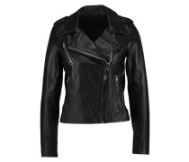 VMROCK - Lederjacke - black beauty