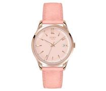 SHOREDITCH - Uhr - pink satin