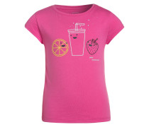 TShirt print knockout pink