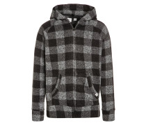 Strickjacke heather grey