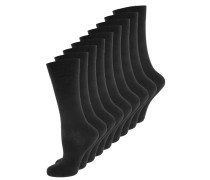 9 PACK - Socken - black