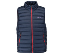Weste navy blue/ramble red